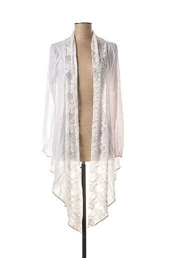 Veste casual blanc MULTIPLES pour femme