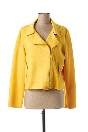 Veste casual jaune MULTIPLES pour femme
