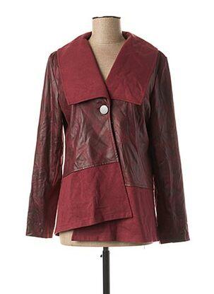 Veste casual rouge MULTIPLES pour femme