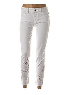 Jeans coupe slim blanc LIU JO pour femme