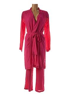 Pyjama rose SYLVIE THIRIEZ pour femme