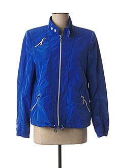 Veste casual bleu WHITE LABEL pour femme