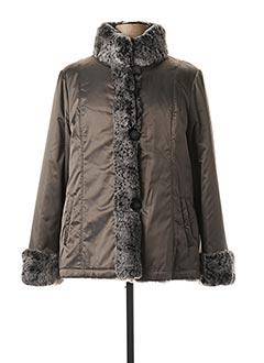 Manteau court noir DEVERNOIS pour femme