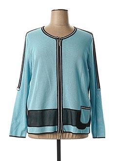 Veste casual bleu FABER pour femme