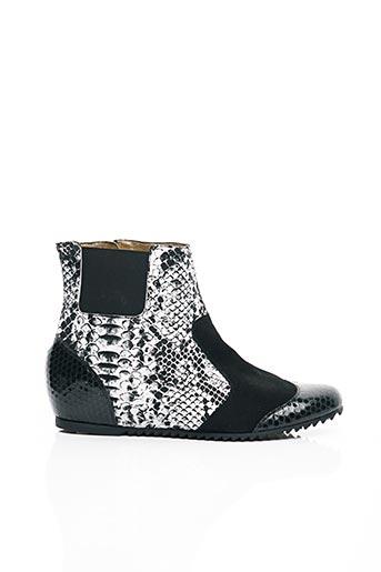 Bottines/Boots noir AZUREE pour femme