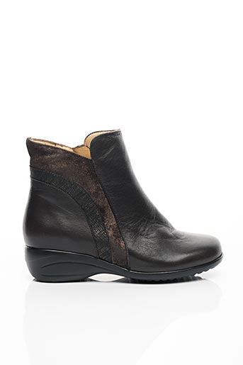 Bottines/Boots gris PIESANTO pour femme