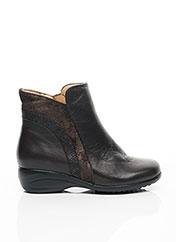 Bottines/Boots gris PIESANTO pour femme seconde vue