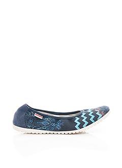 Chaussons/Pantoufles bleu GIESSWEIN pour femme