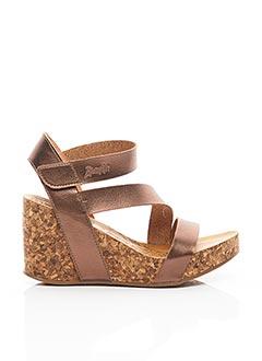 Sandales/Nu pieds rose BLOWFISH pour femme
