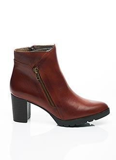 Bottines/Boots marron B.D.A. pour femme