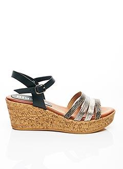 Sandales/Nu pieds noir BLU SANDAL pour femme