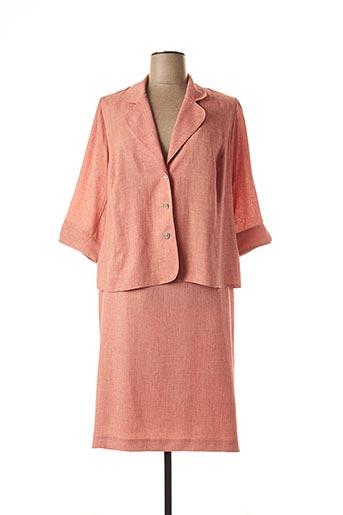 Veste/jupe orange FRANCOISE DE FRANCE pour femme