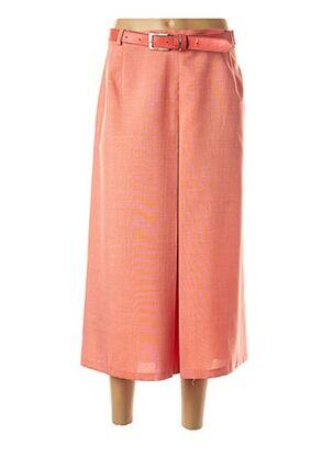 Jupe longue orange JEAN DELFIN pour femme