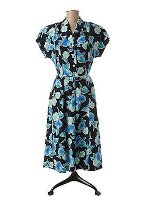 Robe mi-longue bleu FRANCOISE DE FRANCE pour femme
