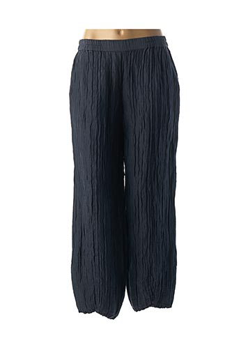 Pantalon casual bleu GRIZAS pour femme