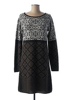Robe pull noir L'ATELIER D'ANNA pour femme