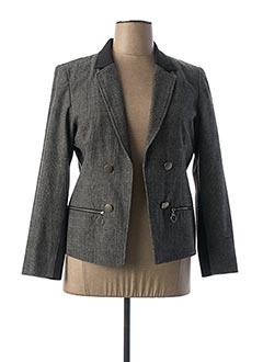 Veste chic / Blazer gris IMITZ pour femme