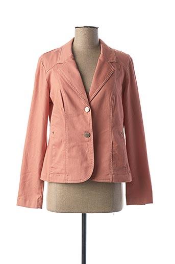Veste chic / Blazer rose BRANDTEX pour femme