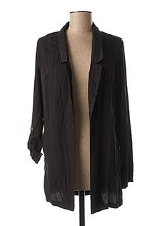Veste casual noir SMASH WEAR pour femme