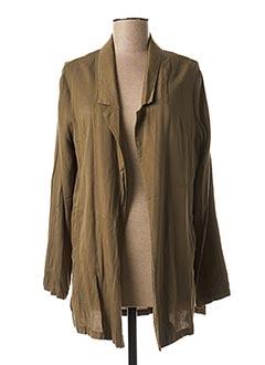 Veste casual vert SMASH WEAR pour femme