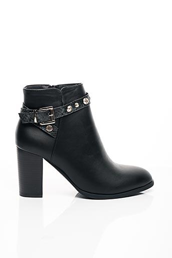 Bottines/Boots noir C'M PARIS pour femme