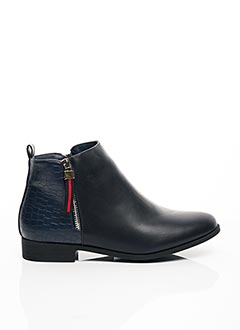 Bottines/Boots bleu C'M PARIS pour femme