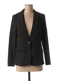 Veste chic / Blazer noir NOISY MAY pour femme