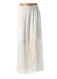 Jupe longue blanc ESQUALO pour femme