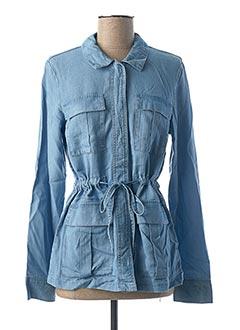 Veste casual bleu VERO MODA pour femme