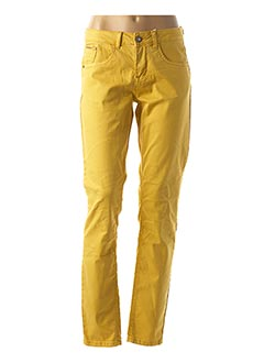 Pantalon casual jaune CREAM pour femme