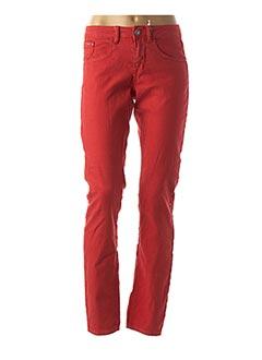 Pantalon casual rouge CREAM pour femme