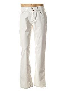 Pantalon casual blanc PIERRE CARDIN pour homme