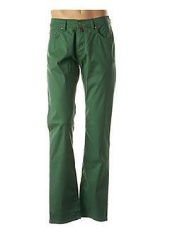 Pantalon casual vert PIERRE CARDIN pour homme