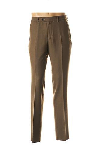 Pantalon chic marron HAROLD pour homme
