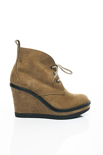 Bottines/Boots marron SERAFINI pour femme