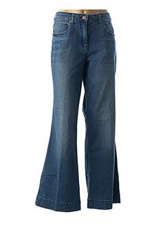 Jeans coupe large bleu SANDWICH pour femme