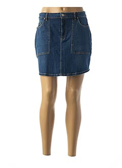 Jupe courte bleu IKKS pour femme