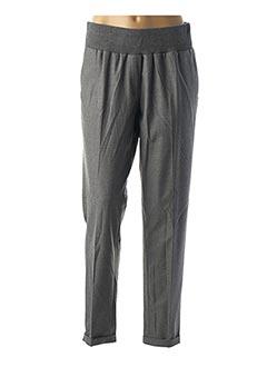 Pantalon 7/8 gris SANDWICH pour femme