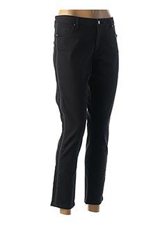 Pantalon 7/8 noir IKKS pour femme