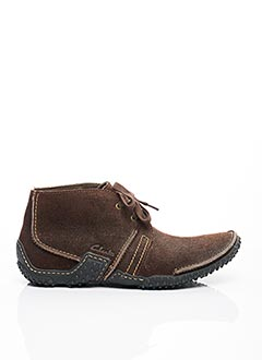 Bottines/Boots marron CLARKS pour homme