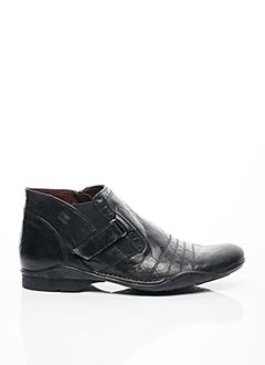 Bottines/Boots noir FLUCHOS pour homme