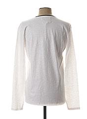 T-shirt manches longues blanc LEE COOPER pour homme seconde vue