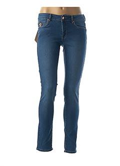 Jeans coupe slim bleu LOIS pour femme