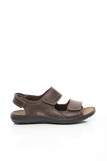 Sandales/Nu pieds marron ENVAL SOFT pour homme