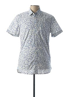 Chemise manches courtes bleu PEPE JEANS pour homme