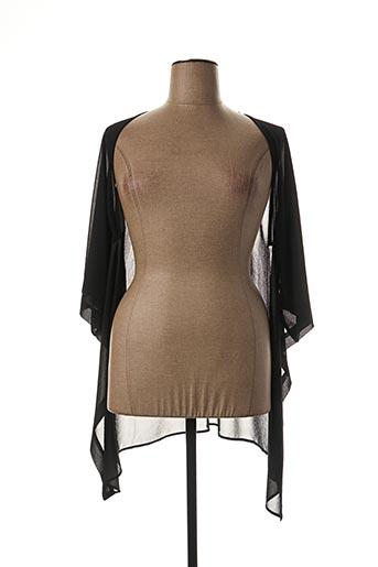 Veste chic / Blazer noir DIAMBRE pour femme