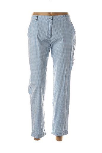 Pantalon 7/8 bleu EAST DRIVE pour femme