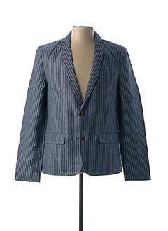 Veste chic / Blazer bleu ANERKJENDT pour homme
