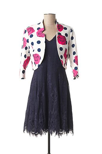 Veste/robe bleu JUS D'ORANGE pour femme