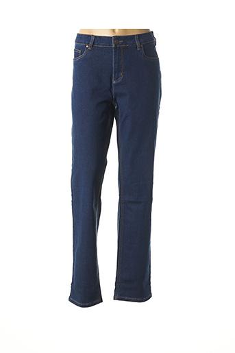 Jeans coupe droite bleu CISO pour femme